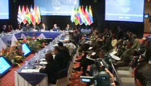 Jednání Unasur v Quitu