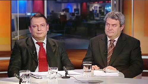 Jiří Paroubek a Vojtěch Filip v OVM