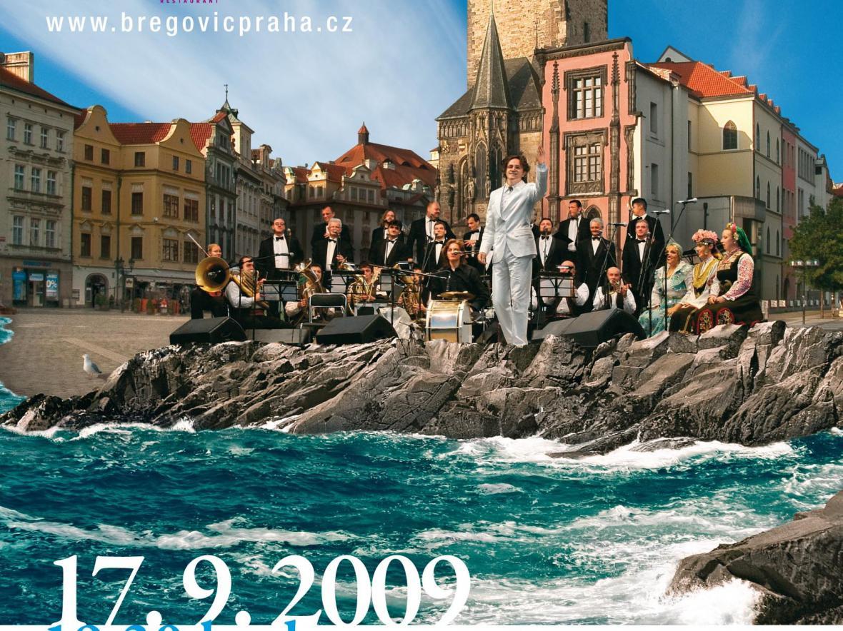 Koncert Gorana Bregoviće v Praze