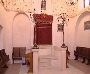 Interiér turnovské synagogy