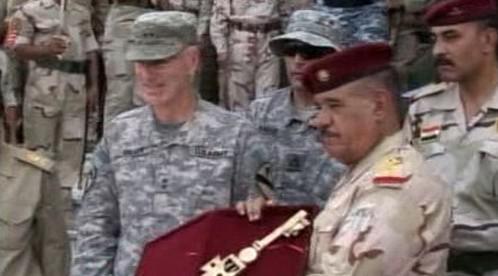 USA předávají poslední vojenskou základnu v Bagdádu