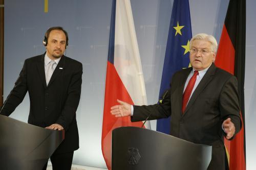 Jan Kohout a Frank-Walter Steinmeier