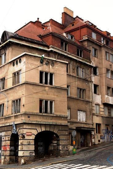 Dům obsazený squattery
