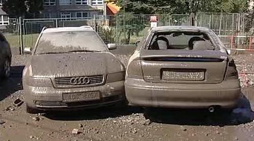 Poškozené vozy