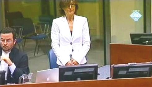 Florence Hartmannová před soudem