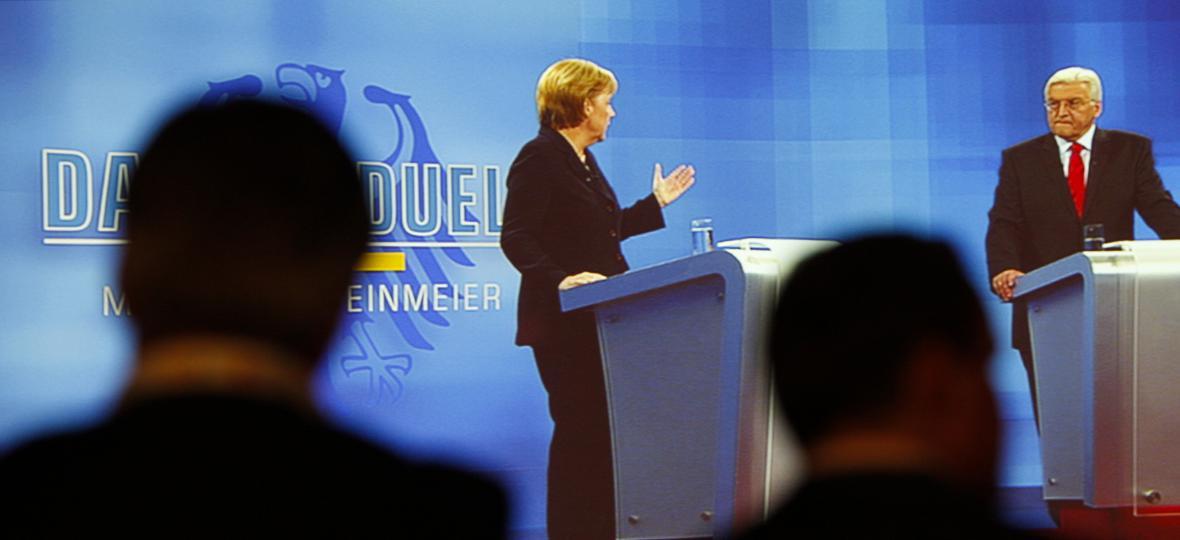 Předvolební debata kandidátů na post německého kancléře