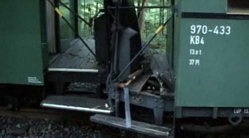 Srážka historického vlaku