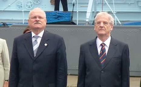 Ivan Gašparovič a László Sólyom