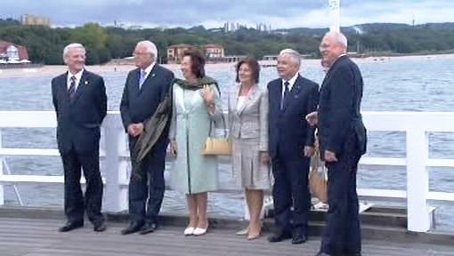 Setkání prezidentů zemí Visegrádské čtyřky