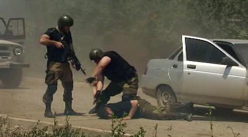 Zásah čečenských bezpečnostních složek