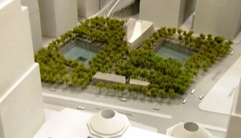 Plán památníku na Ground Zero