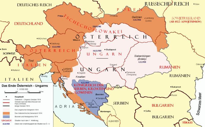 Konec Rakouska-Uherska