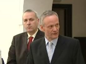 Cyril Svoboda a Jiří Carbol