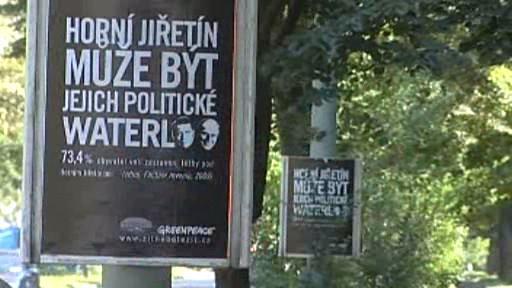 Plakáty Greenpeace