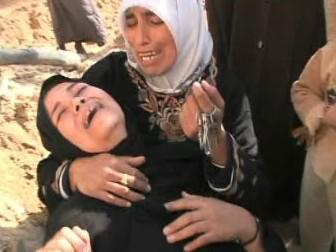 Plačící ženy v Gaze