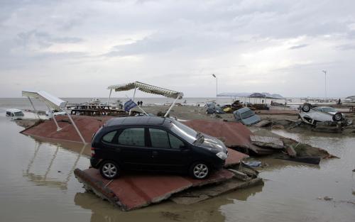 Následky přívalových dešťů