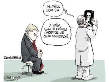 Karikatura Robert Fico