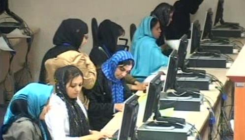 Sčítání volebních hlasů v Afghánistánu