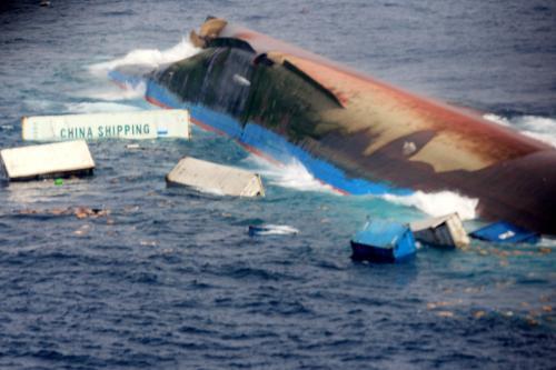 Potopený filipínský trajekt
