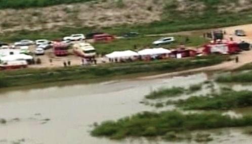 Záplavy na řece Imdžin