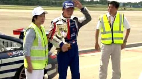 Řidič vítězného Porsche