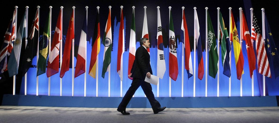 Gordon Brown na G20
