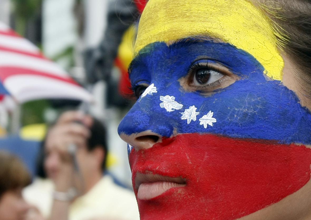Demonstrující se snažili podpořit hlavně Kolumbii