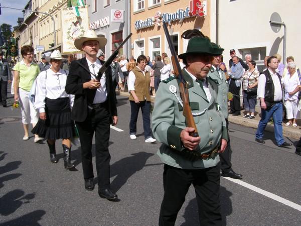 Oslavy ve Zschopau, partnerském městě Loun