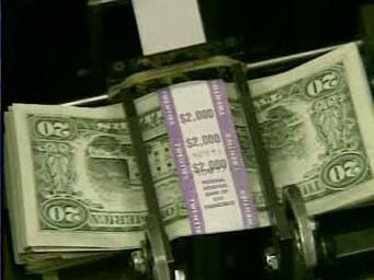 Dvacetidolarové bankovky