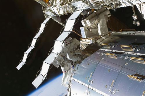 Instalace nové nádržena ISS