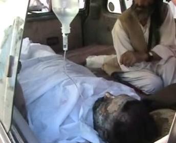 Zraněný Afghánec