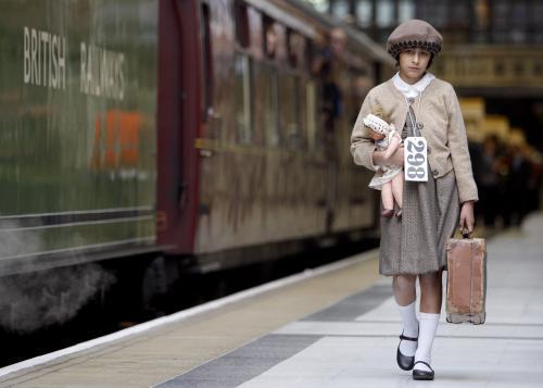 Přivítání vlaku Winton train v Londýně