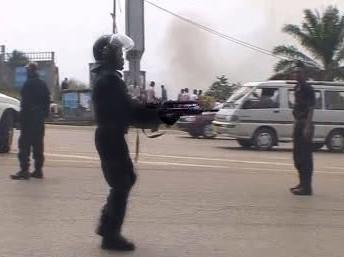 Nepokoje v Gabonu