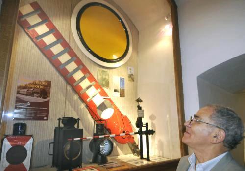 Expozice železniční historie