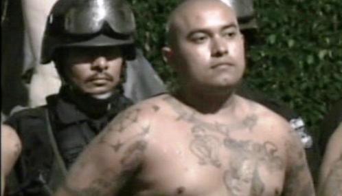 Člen salvadorského gangu Mara 18