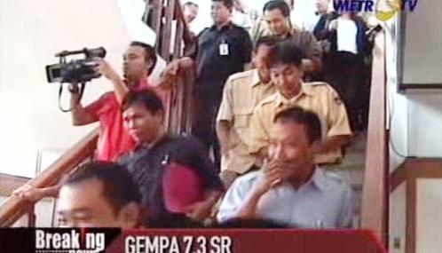Evakuace Indonésanů po zemětřesení