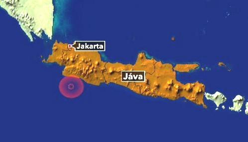 Zemětřesení u ostrova Jáva