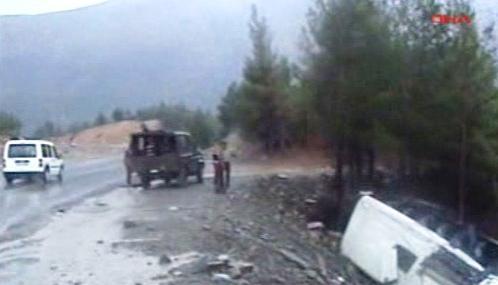 Nehoda autobusu s českými turisty v Turecku