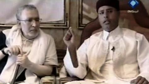 Muhammad Midžrahí a Sajf Islám Kaddáfí