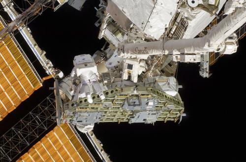 Práce na ISS