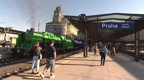 Winton train na pražském Hlavním nádraží