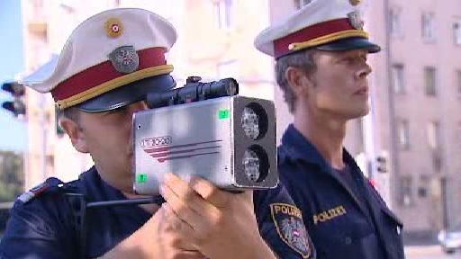 Rakouští policisté v akci