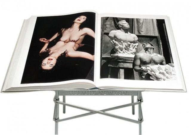 Obří kniha fotografií Helmuta Newtona