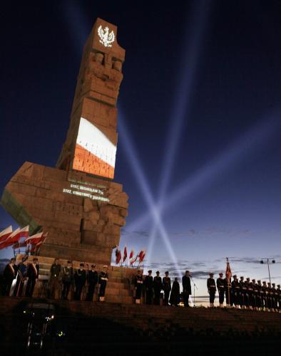 Vzpomínkový akt na Westerplatte