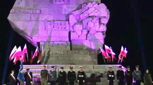 Pomník na Westerplatte