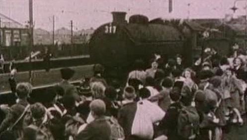 Vlak, který odvezl židovské děti do bezpečí