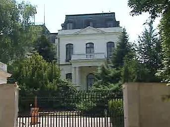 Budova ruské ambasády v Praze