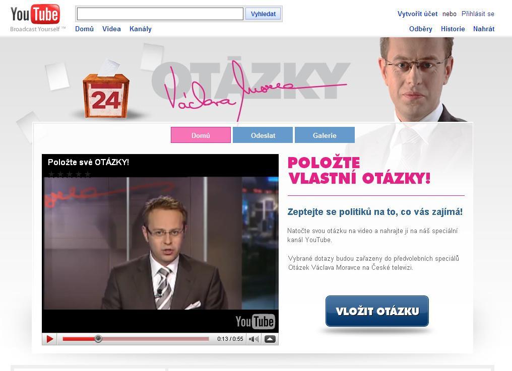 Otázky k volbám 2009