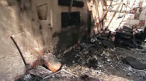 Následky požáru