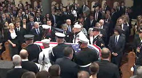 Pohřeb Edwarda Kennedyho